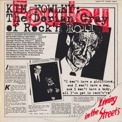 Kim Fowley --- Living In The Streets